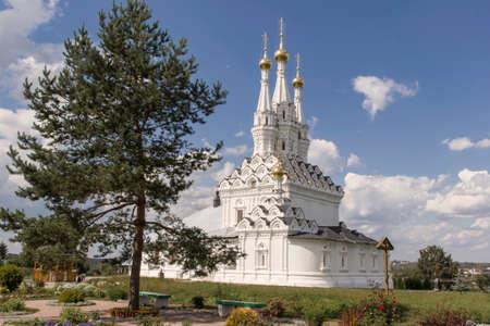 worship service: Nunnery (Vyazma) Stock Photo