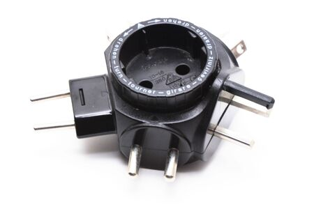 adapter: Electrical travel adapter.