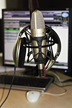 out of production: Broadcast  radio Stock Photo
