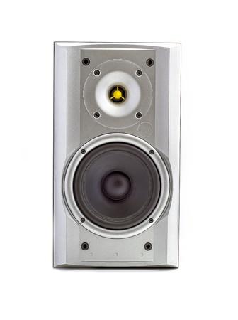 loud speaker: Loud speaker isolated in white