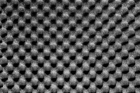 Dark grey packing or acoustic foam Stock Photo