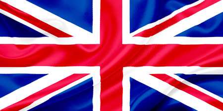 Flag of Great Britain, Union Jack  photo