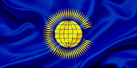 commonwealth: Flag of Commonwealth of Nations waving in the wind