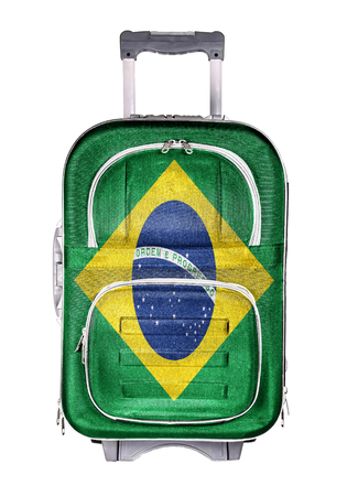 emigration and immigration: The concept of emigration, immigration, relocation, travel. Brazil.