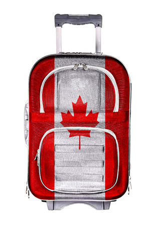 emigration immigration: The concept of emigration, immigration, relocation, travel. Canada Stock Photo