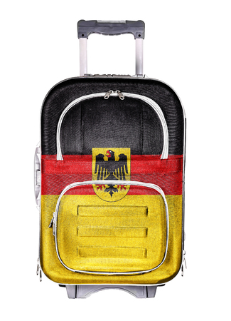 emigration and immigration: The concept of emigration, immigration, relocation, travel. Germany.