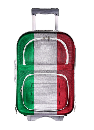 emigration and immigration: The concept of emigration, immigration, relocation, travel. Italy.