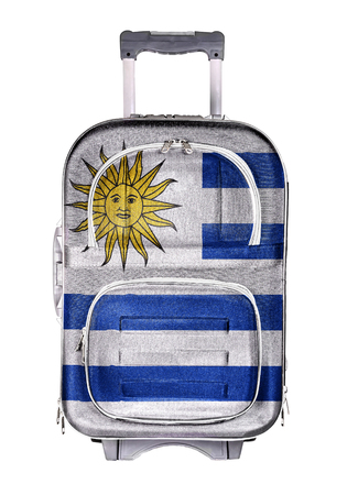emigration and immigration: The concept of emigration, immigration, relocation, travel. Uruguay.