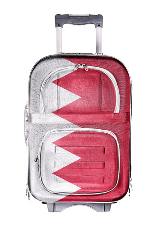 holdall: The concept of emigration, immigration, relocation, travel. Bahrain.