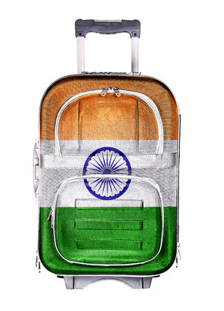 emigration and immigration: The concept of emigration, immigration, relocation, travel. India.