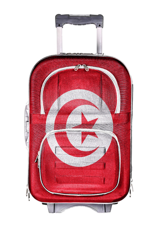 emigration and immigration: The concept of emigration, immigration, relocation, travel. Tunisia. Stock Photo