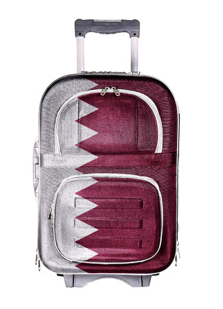 emigration immigration: The concept of emigration, immigration, relocation, travel. Qatar.