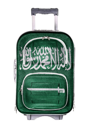 emigration: The concept of emigration, immigration, relocation, travel. Saudi Arabia. Stock Photo