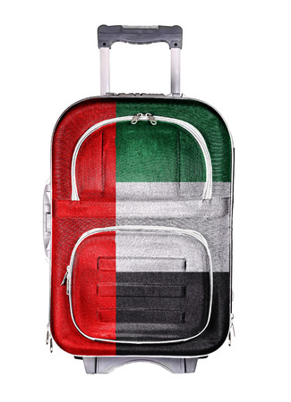 emigration and immigration: The concept of emigration, immigration, relocation, travel. United Arab Emirates. Stock Photo