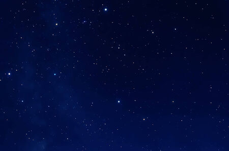 sky: Starry Sky. Deep space and stars image. Stock Photo