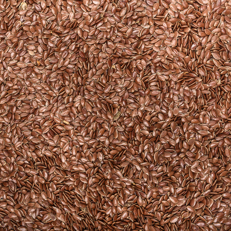 cathartic: Flax seed cereal and grain texture as a symbol of healthy eating Stock Photo