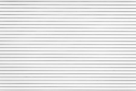 White metal roller door shutter background and texture Stock Photo - 38497446