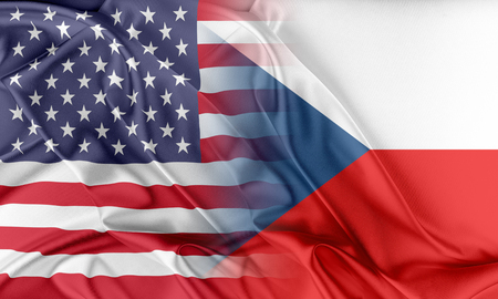 Relations between two countries. USA and Czech Republic