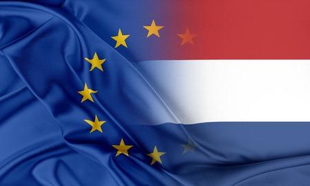Europese Unie en Nederland. Het concept van de relatie tussen de EU en Nederland.