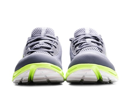 unbranded: Unbranded sneakers isolated on a white background.