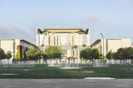 residence: The Bundeskanzleramt, Berlin. The residence of the Chancellor of Germany.
