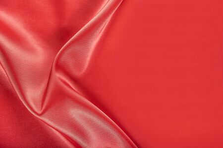red cloth: Red silk texture of  satin abstract background.