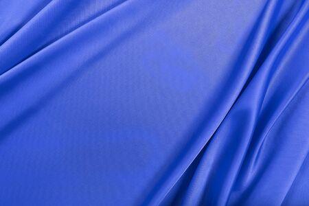 blue silk: Blue silk texture of  satin abstract background.
