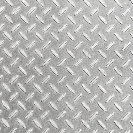 aluminium: Aluminium metal silver list with rhombus shapes. Stock Photo