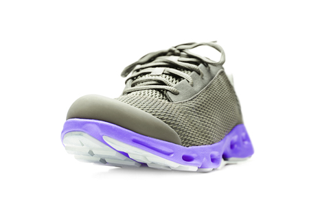 unbranded: Unbranded running sneaker, shoe or trainer isolated on white.