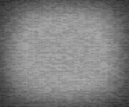 backstop: Dark brick backstop. Grey brick wall texture background.
