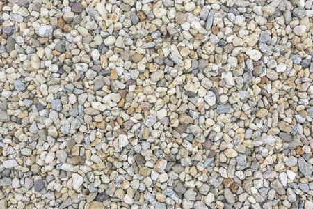 small stones: Sea pebbles. Small stones gravel texture background. Stock Photo
