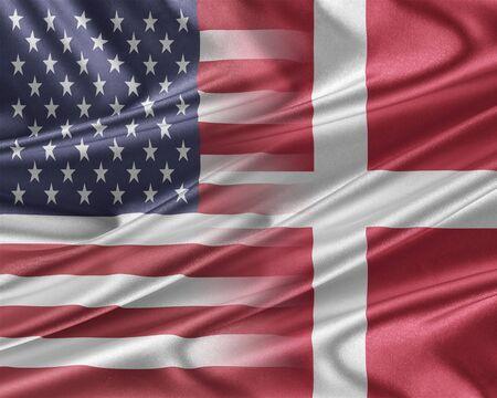 アメリカとデンマーク。