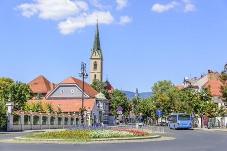 ザグレブの Kaptol 広場。