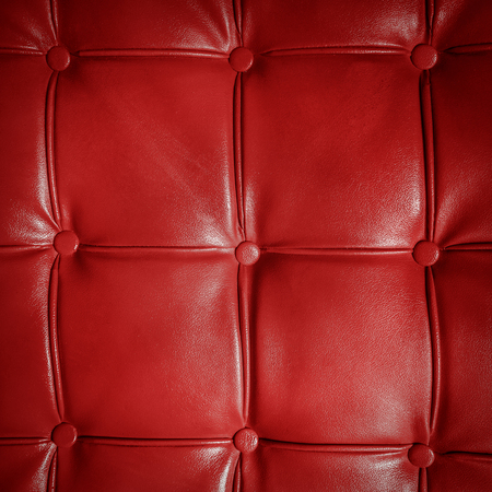 leather texture: Texture of the leather sofa close up. Stock Photo