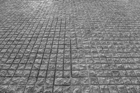 road surface: Stone paving texture. Stock Photo