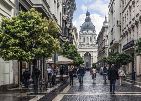 St. Stephens Basilica in Budapest.