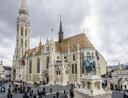 Church of St. Matthias in the city of Budapest.
