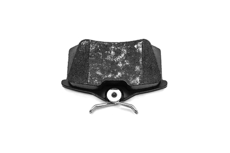 Brake pads car isolated on white background. Standard-Bild