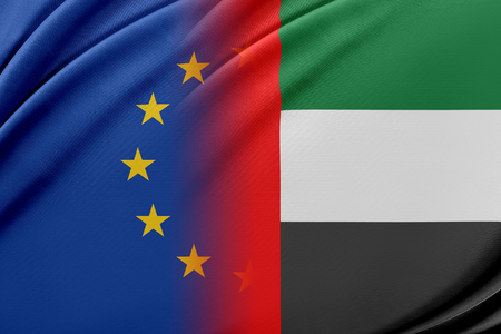 European Union and United Arab Emirates. The concept of relationship between EU and United Arab Emirates.