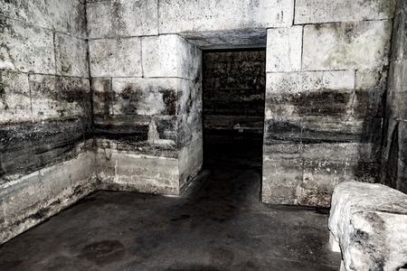 Old abandoned dungeons or catacombs.