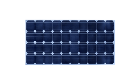 Solar battery isolated on white background. Archivio Fotografico - 118516025