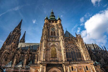 St. Vitus Cathedral. Prague, Czech Republic.