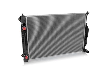 Car radiator isolated. Banque d'images