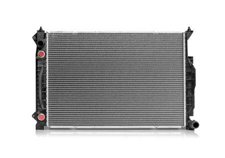 Car radiator isolated.