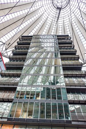 Sony Center in Berlin, Germany. Editorial