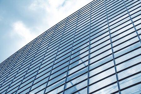 Wall of glass windows Stock fotó