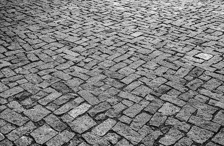 Gray paving stones as an abstract background for advertising or text.