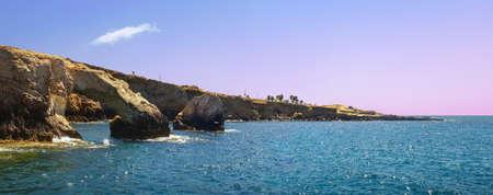 The bridge of lovers at Cape Greco. Cyprus, Agia NAPA