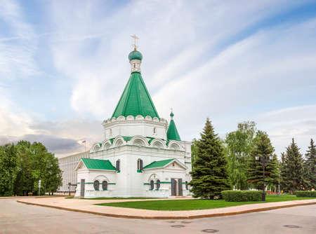 The Michael-Archangel Cathedral. Nizhny Novgorod. Russia.