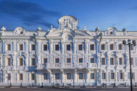 retailers: Manor of Merchant Rukavishnikov. Nizhny Novgorod, Russia... Editorial